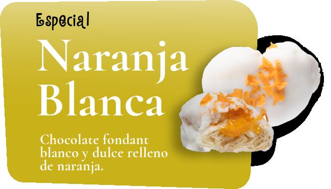 especial blanca naranja