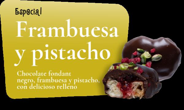 12 Frambuesa y Pistacho